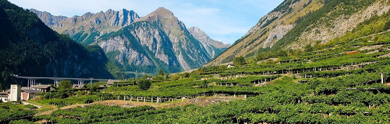 Aostatal Weinland Italien