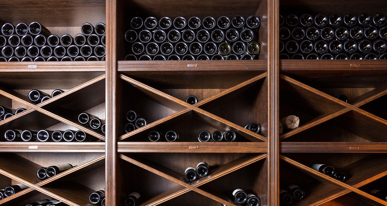 Wo soll ich den Wein lagern