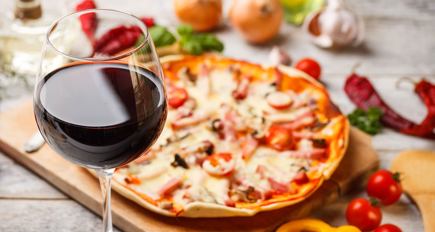 Welcher Wein zu Pizza passt