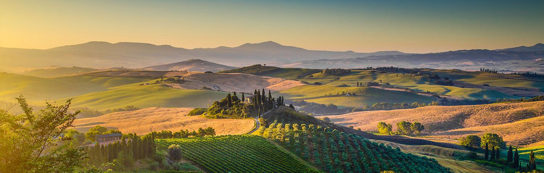 Weinland Italien Toskana