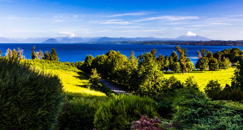 Küstenregion im südlichen Chile