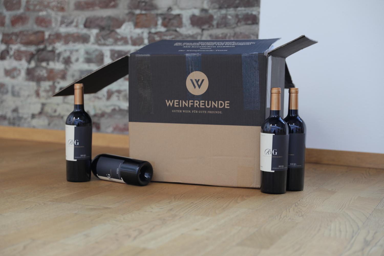Weinfreunde Transportkarton