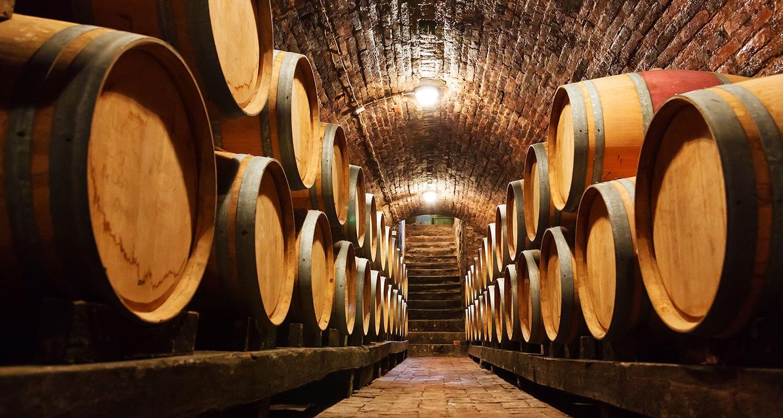 Weinkeller in Lugana