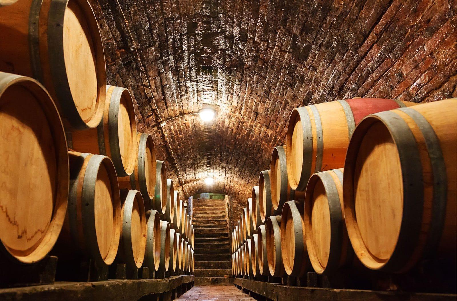Marsala Weinfässer