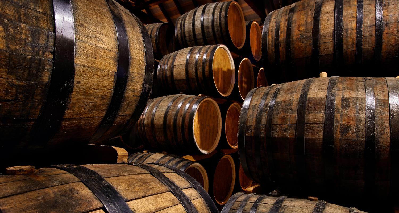 Cognac Fässer