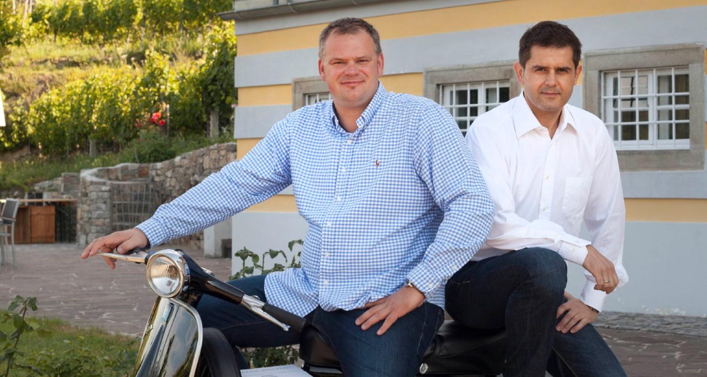 Horvath (Geschäftsführer) und Frischengruber (Kellermeister)