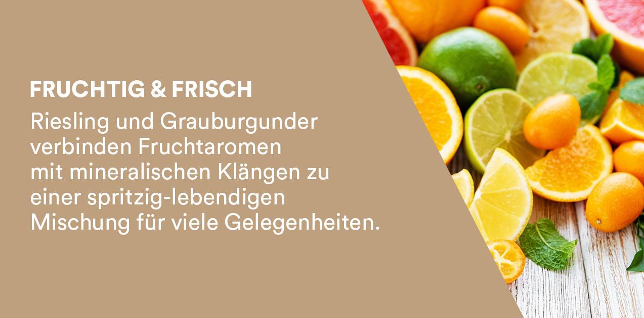 Weinstil fruchtig frisch