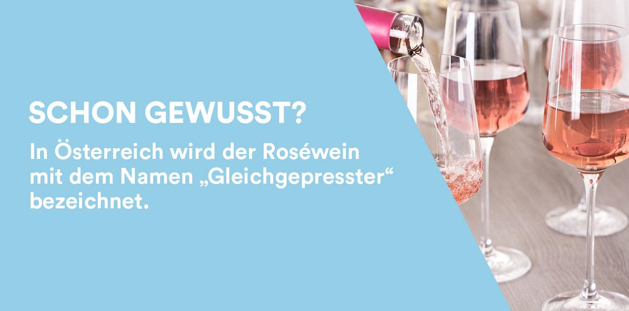 Roséwein in Österreich