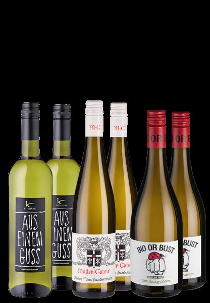 Probierpaket Bio-Weißwein